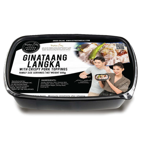 Ginataang Langka with Crispy Pork Toppings