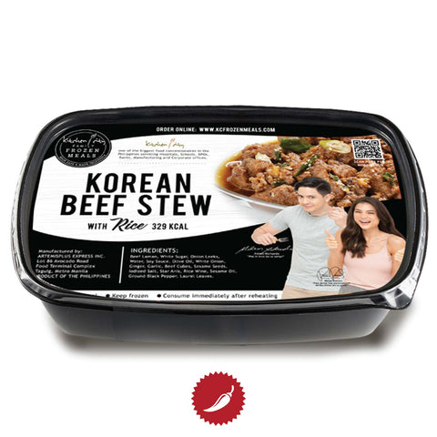 Korean Beef Stew | Frozen Rice Meal