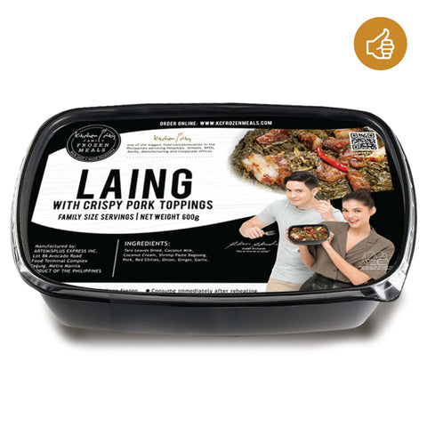 Laing with Crispy Pork Toppings