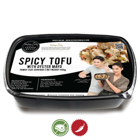 Spicy Tofu with Oyster Mayo