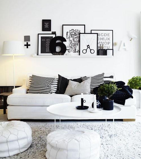 Inspiring Interiors - Black and White