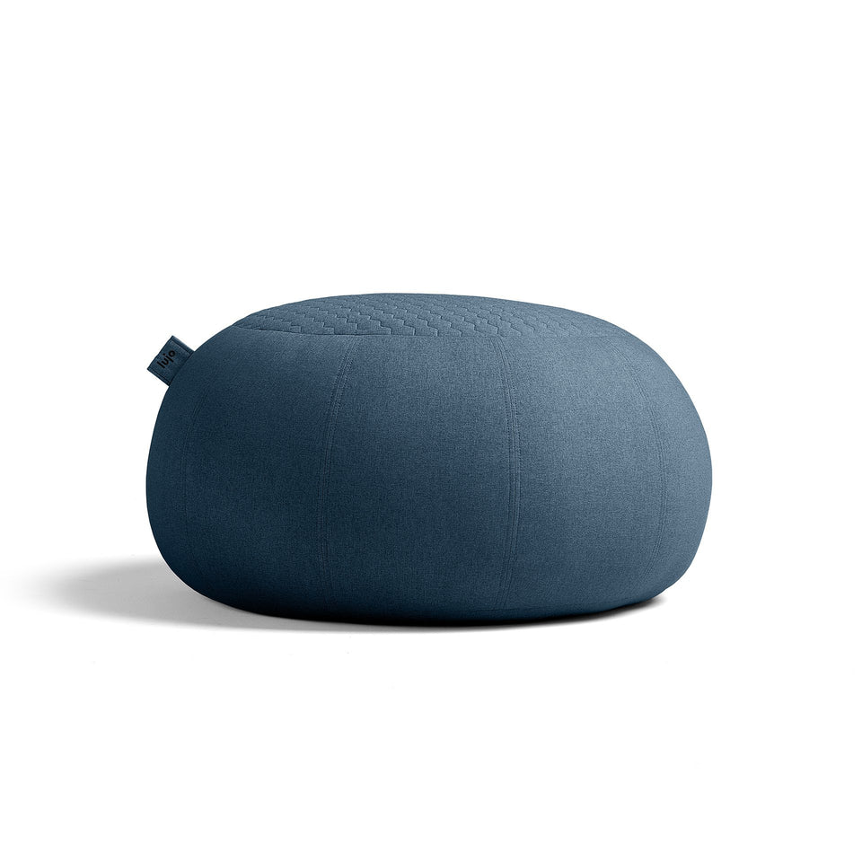 Indoor Bean Bag Ottoman - Quilted
