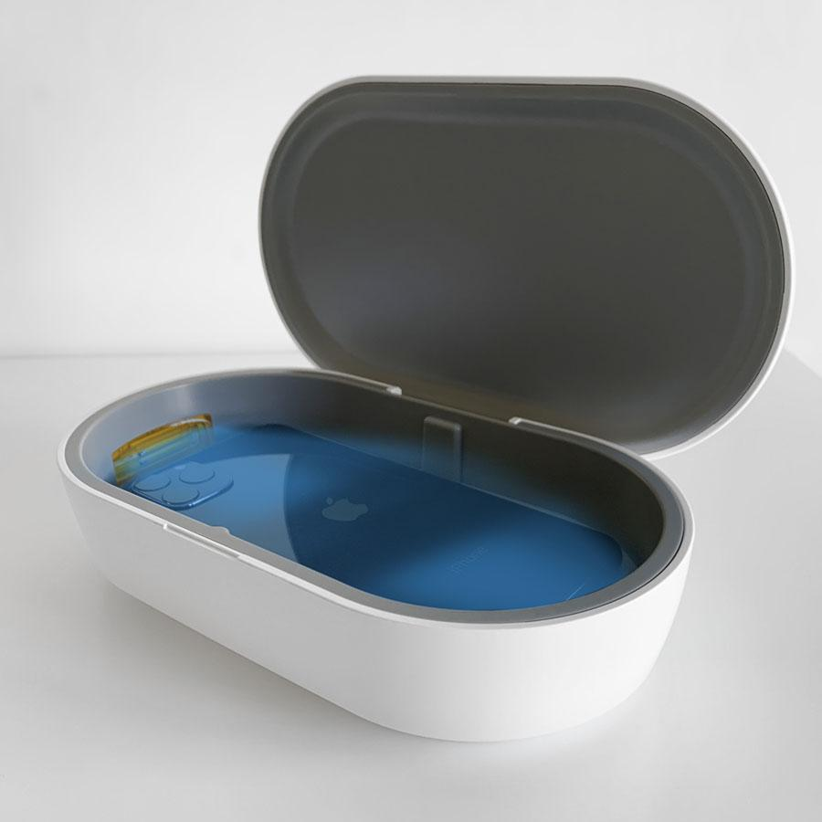 UV Sanitiser Box With Wireless Charging