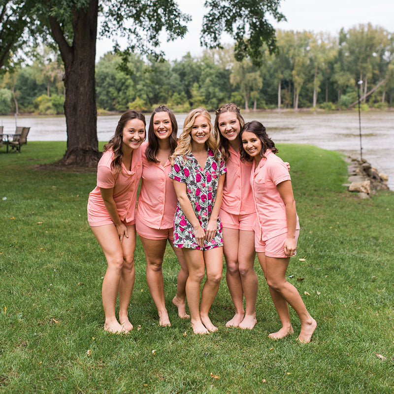 Pajamas for bridesmaids have taken the wedding industry by storm, and for a good reason! Bridesmaids pajamas are the perfect getting-ready outfits for your morning of wedding photos and comfy!