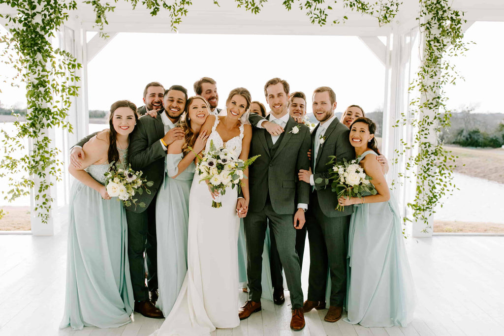 Stephanie & Colter's Sea Glass Wedding
