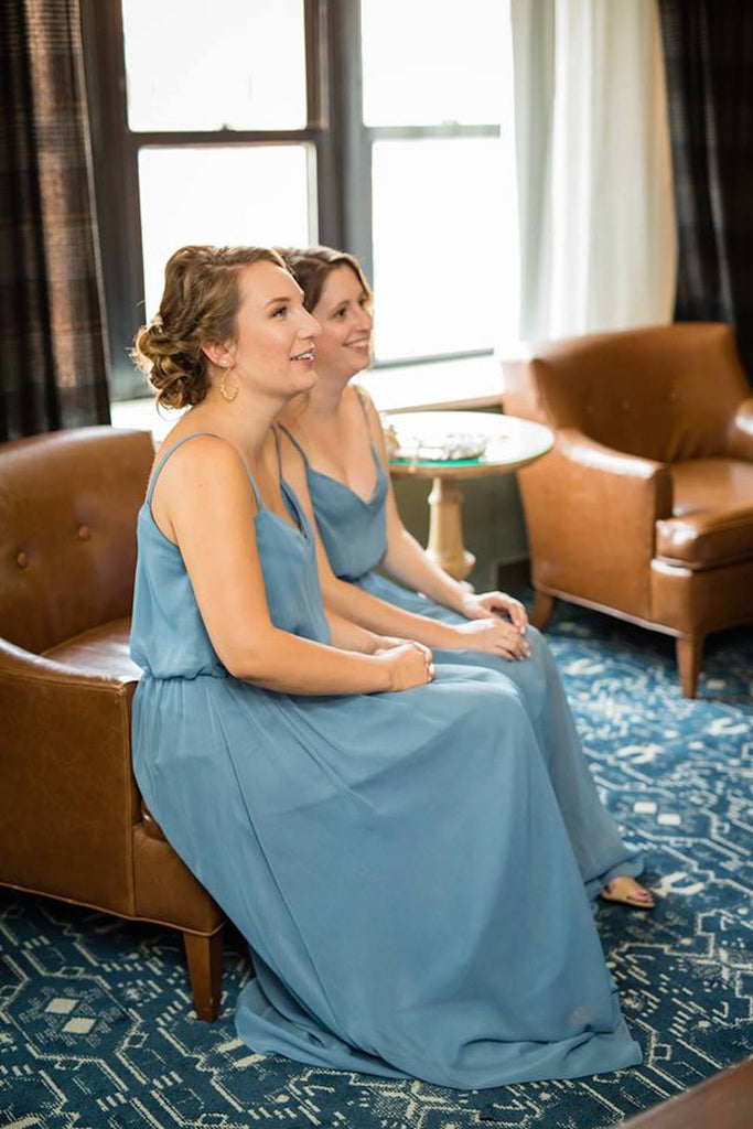 Bridesmaids-in-blue-Annie-Ryan-Wedding-Kennedy-Blue