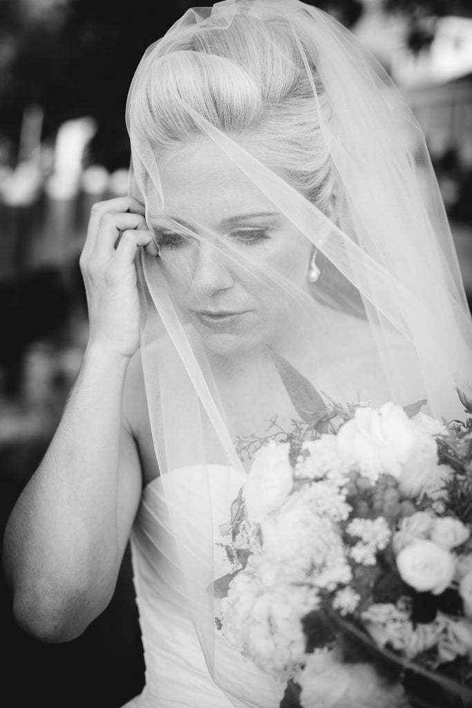 A gorgeous close-up of the bride | Photo by Sarah Chacos | Stunning Wedding Photos to Inspire Your Big Day! | Kennedy Blue