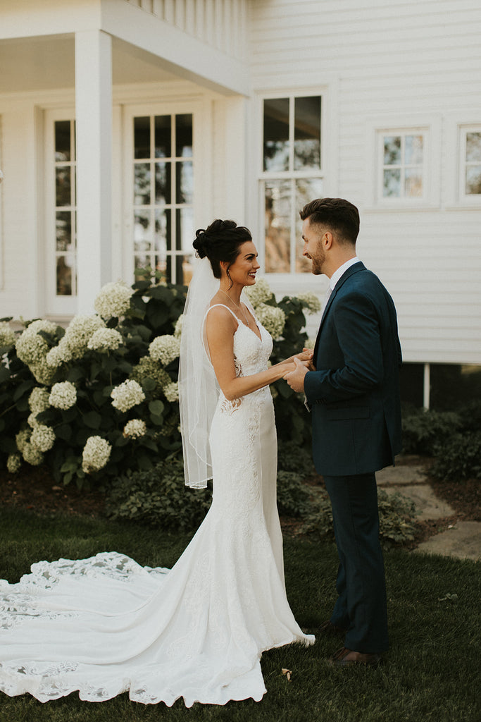 brie and groom reveal