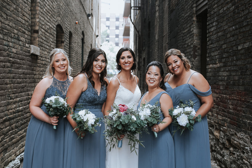 9bed275cac 20 Slate Blue Bridesmaid Dresses Worth Obsessing Over – Kennedy Blue