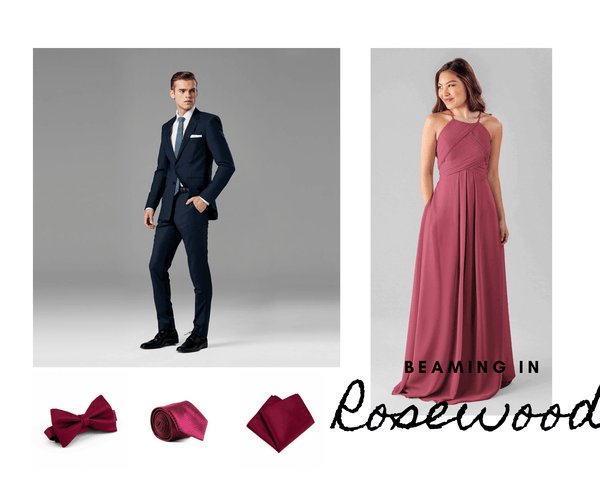 coordinating bridesmaids and groomsmen