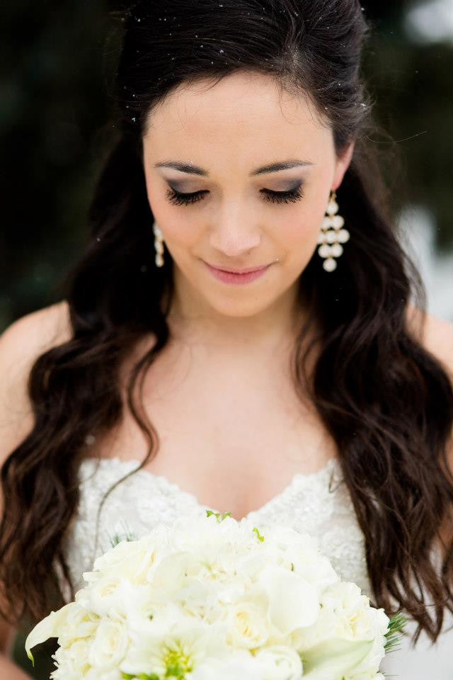 Beautiful close up of the bride! | 52 Best Wedding Photo Ideas | Kennedy Blue | Janelle Elise Photography