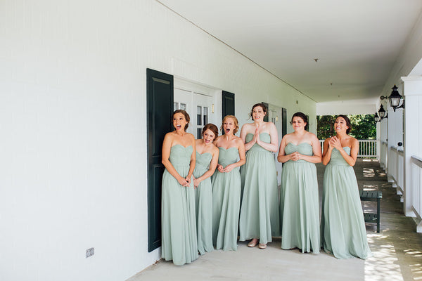 Sage Green Bridesmaid Dress Parker