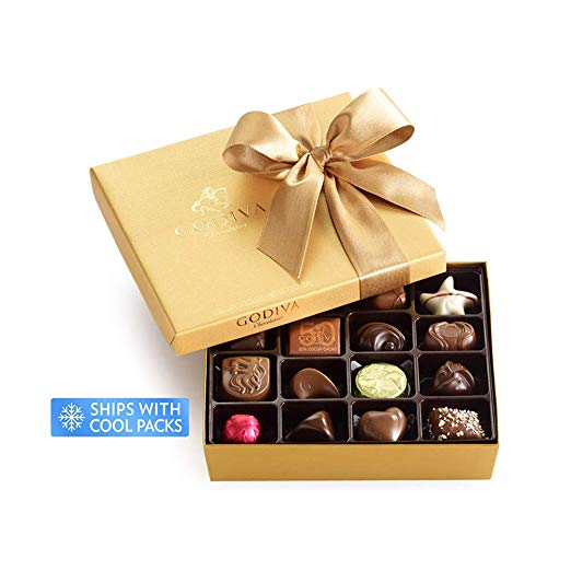 Godiva chocolate | bridesmaid gift ideas Kennedy Blue