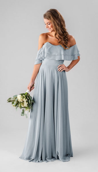 Kennedy Blue Allison | Our Favorite Long Light Blue Bridesmaid Dresses