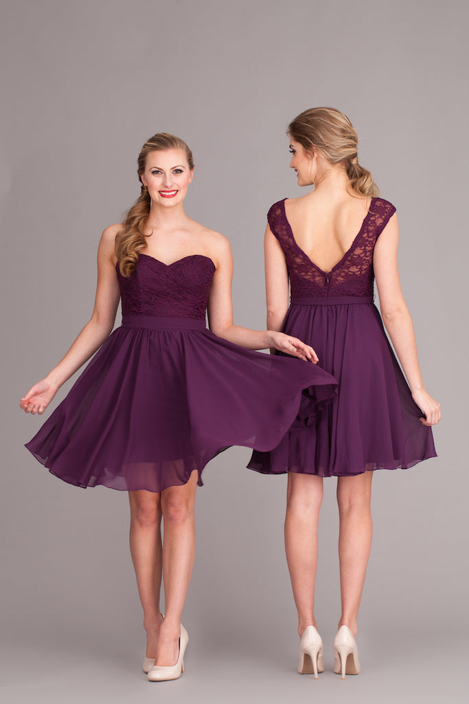 Kennedy Blue Bridesmaid Dress Camilla and Ashton