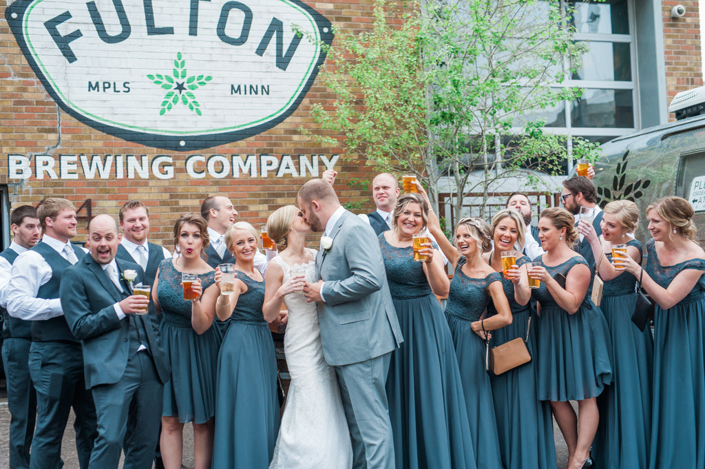 brewery wedding, Fulton - Minneapolis