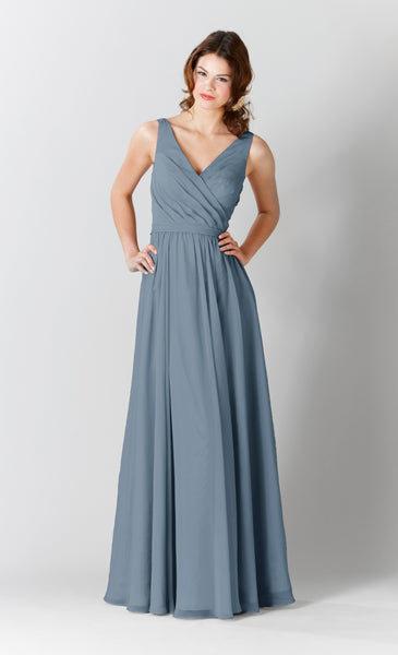 Kennedy Blue Bridesmaid Dress Anna