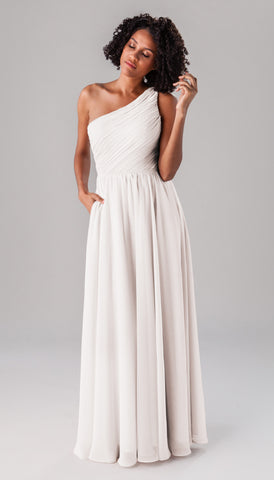 Athena Kennedy Blue Dress | Ivory Bridesmaid Dresses