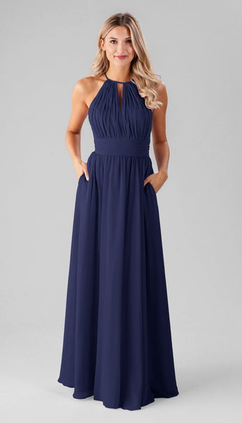 Bailey Kennedy Blue Bridesmaid Dress | How to Find the Perfect Bridesmaid Dresses for Petite Women