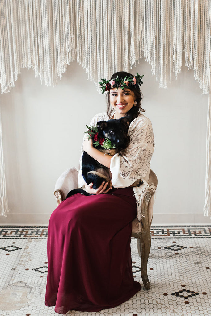 Kennedy Blue Bridesmaid | Boho Styled Shoot