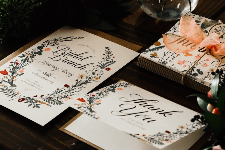 hand-Crafted Stationary | Boho Styled Shoot