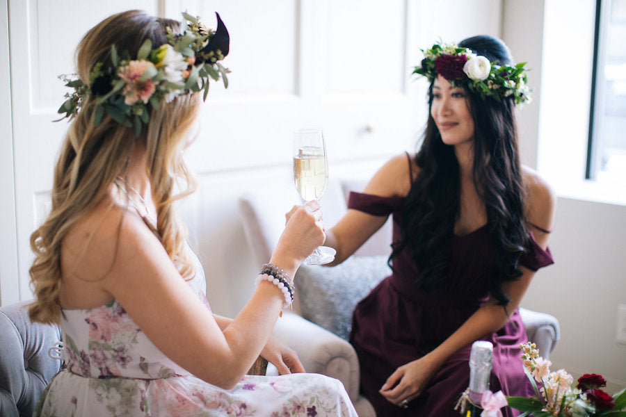 Mimosas at Bohemian Brunch | Boho Styled Shoot
