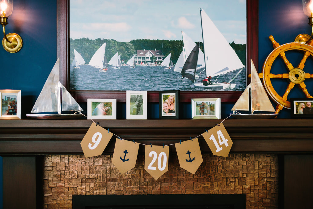 Nautical wedding decor | A Nautical-Inspired Wedding Day