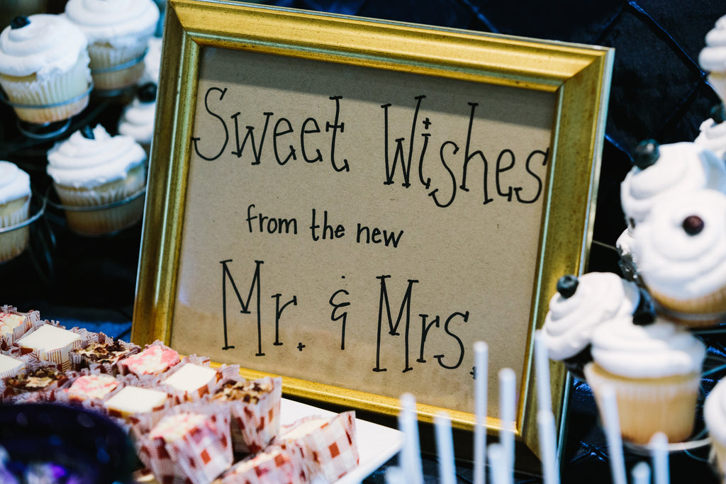 Sweet treats for the reception | A Nautical-Inspired Wedding Day