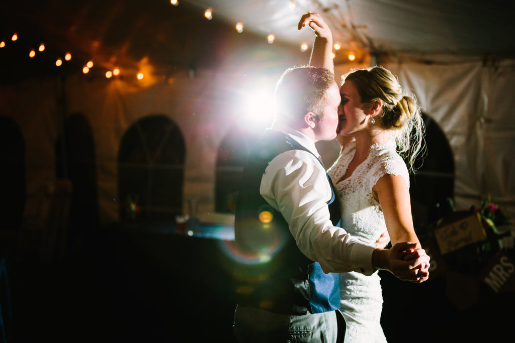 The couple's first dance | A Nautical-Inspired Wedding Day