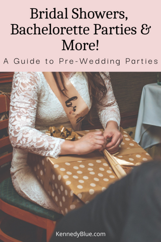 Bridal Showers, Bachelorette Parties & More | Guide to Pre-wedding Parties