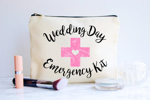 Wedding Day Emergency Kit for Bride