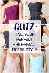 The Best Bridesmaid Dresses for Your Body: A Guide to Necklines