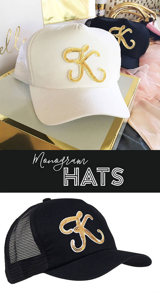 These hats are such a cute 'thank you' gift for your 'maids! | 24 Bridesmaid Gifts Your Girls Will Love | Kennedy Blue | ModParty
