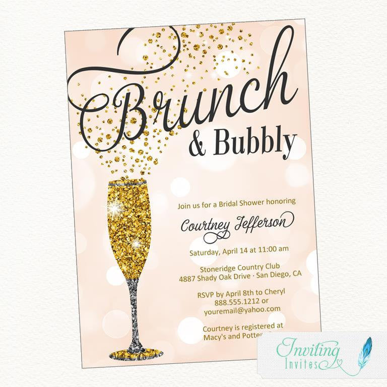 these brunch bubbly bridal shower invitations are adorable 52 awesome bridal