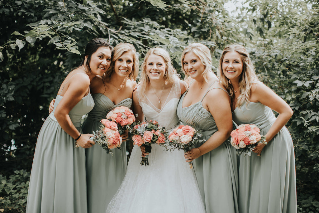 6 Sage Green Bridesmaids Dresses We Love