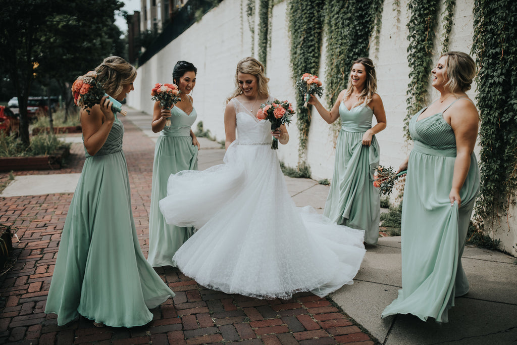 Kennedy Blue bridesmaid styles