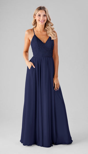 Cameron Kennedy Blue Bridesmaid Dress | How to Find the Perfect Bridesmaid Dresses for Petite Women