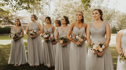 Drew drop bridesmaid dresses