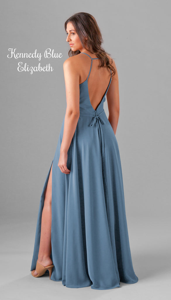 A NEW Open Back Chiffon Bridesmaid Dress From the Kennedy Blue Spring 2017 Collection