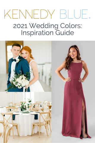 2021 Wedding Colors: Ultimate Guide