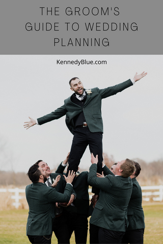 the groom's guide to wedding planning