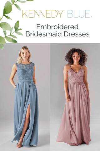 embroidered bridesmaid dresses blog