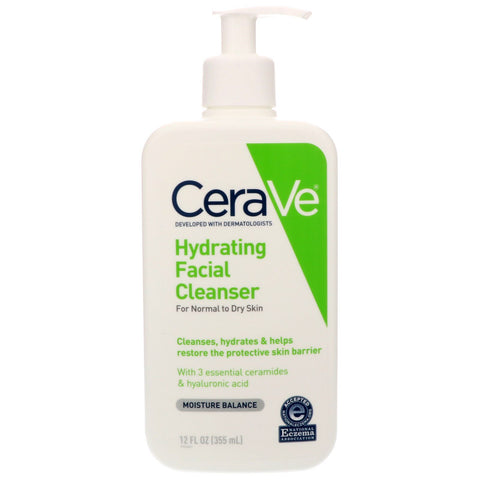 CeraVe Hydrating Facial Cleanser | Affordable Beauty Products for Brides-to-Be | Kennedy Blue