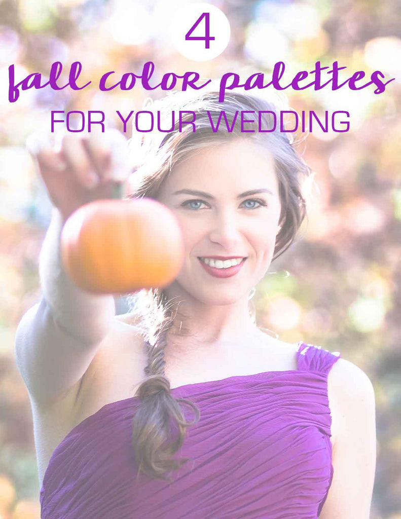 Our Favorite Fall Wedding Color Palettes