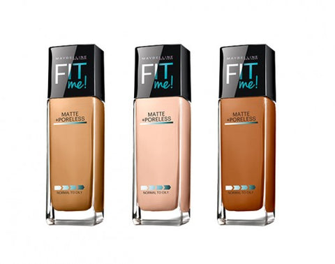 Maybelline Fit Me Matte + Poreless Foundation | Affordable Beauty Products for Brides-to-Be | Kennedy Blue