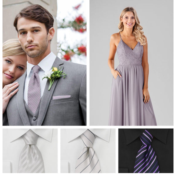 32ddfce95b9 Your Guide to Perfectly Matching Your Bridesmaids and Groomsmen ...