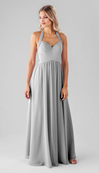 Kennedy blue ginger | Long Grey Bridesmaid Dresses