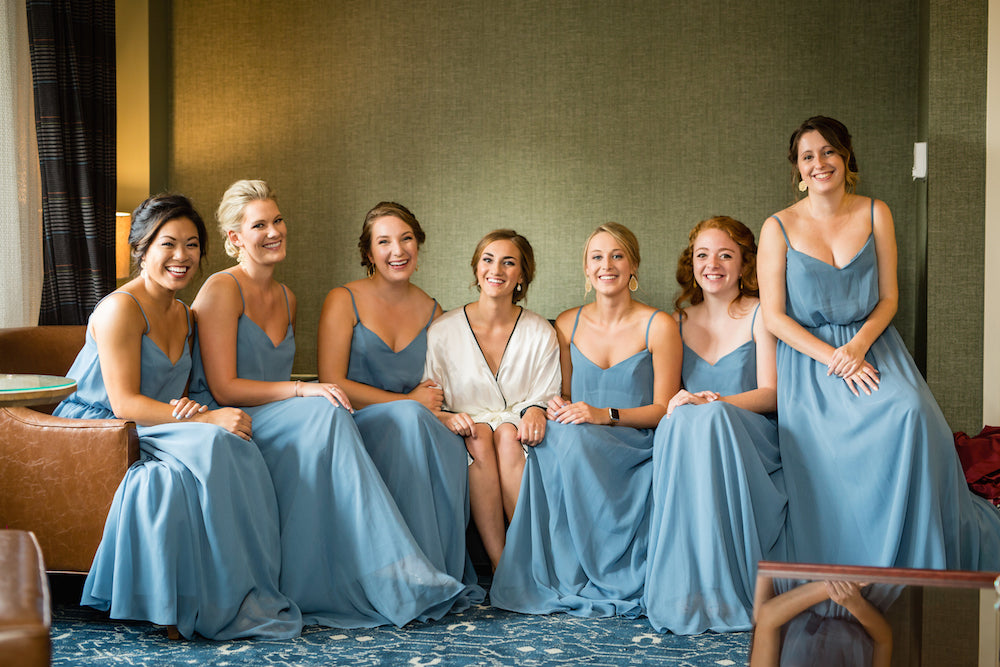 Bridesmaid-with-bride-portrait-Annie-Ryan-Wedding-Kennedy-Blue
