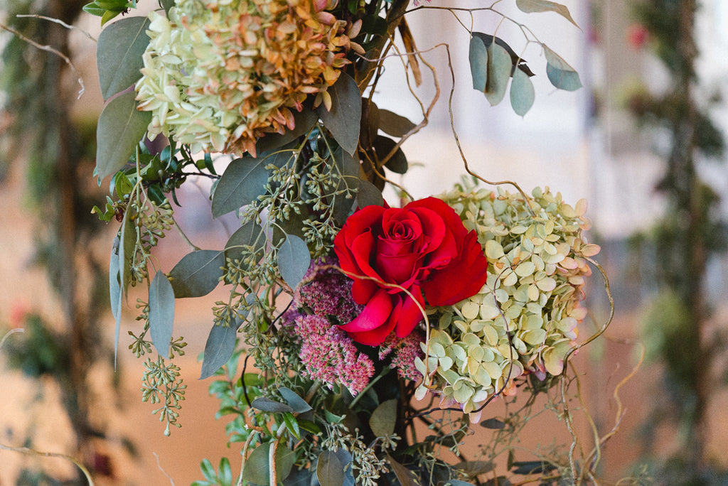 Diy Floral Wedding Decorations Kennedy Blue