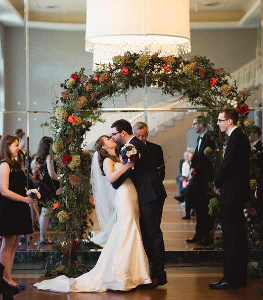 Create a unique altar for your fall wedding | Your Ultimate Guide to Fall Weddings | Kennedy Blue